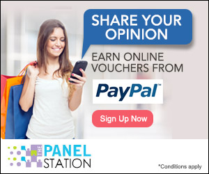 Share your opinion at The Panel Station. Earn cash into your PayPal account.